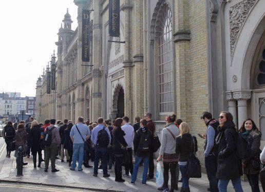 BrightonSEO queue