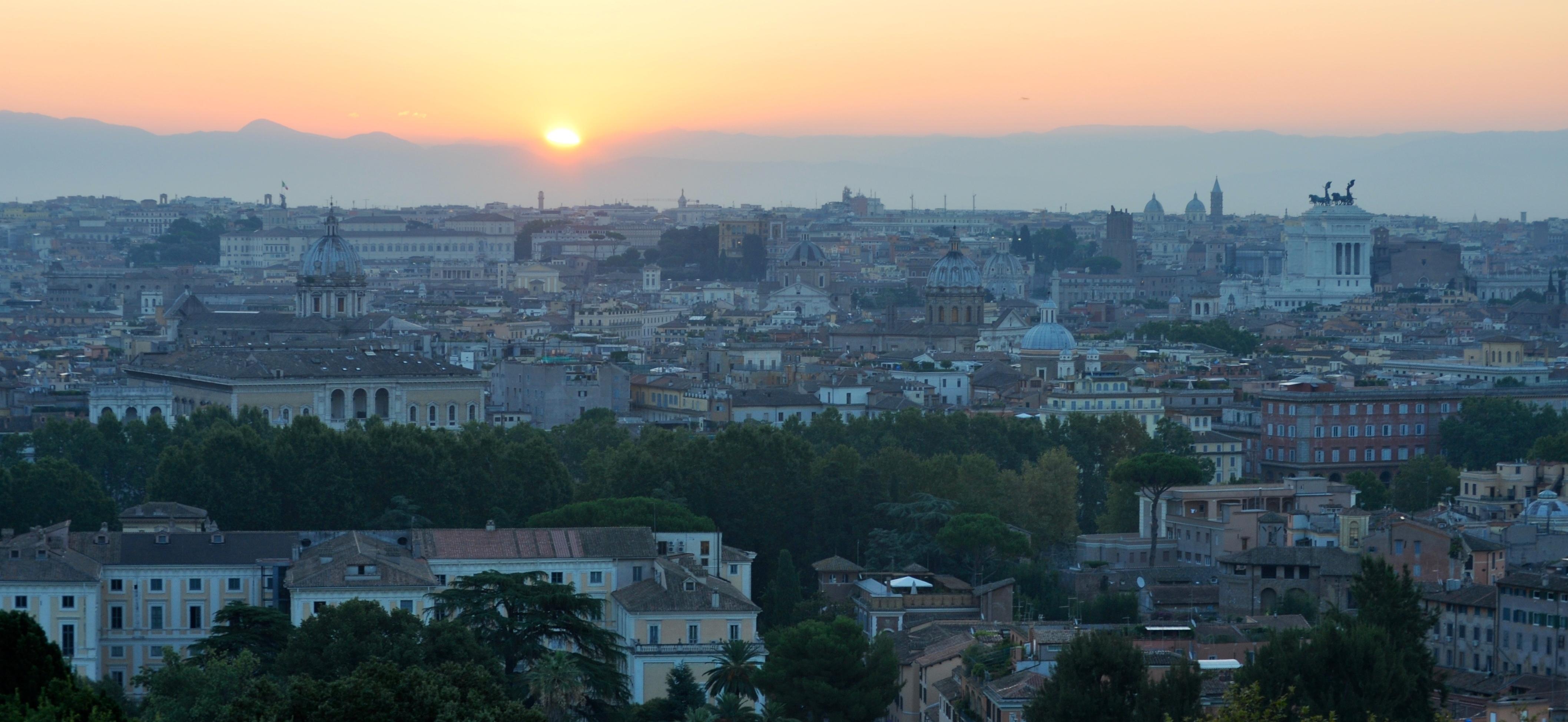 Rome at Sunrise