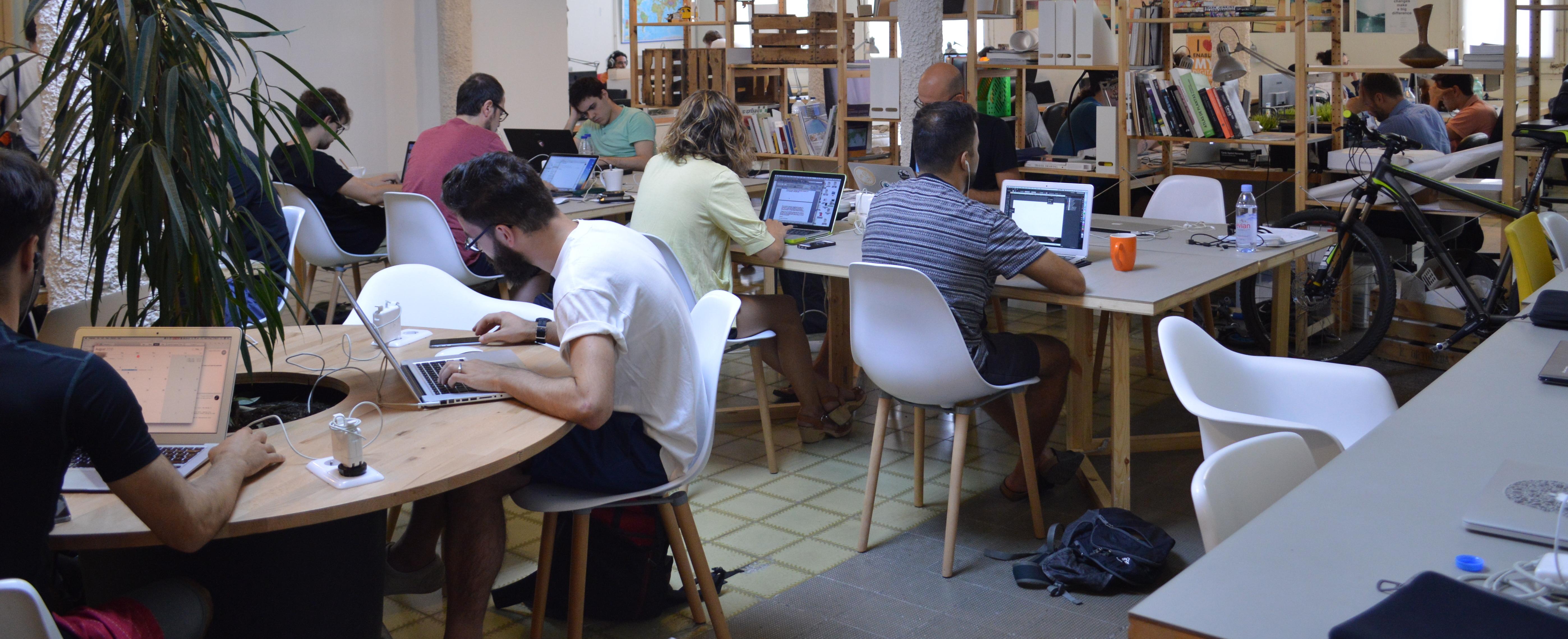 PRO workspace in Barcelona