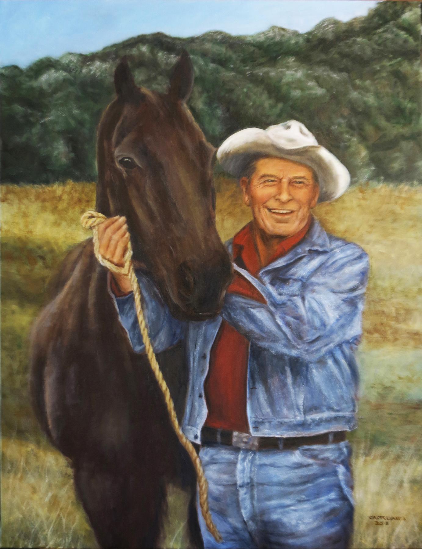 Reagan Painting