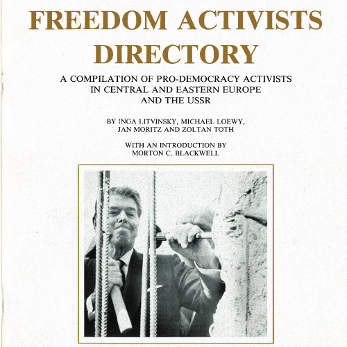 1991 Freedom Activists Directory of anti-communists in the Soviet Empire