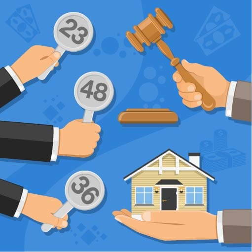 how to auction a house by bidding