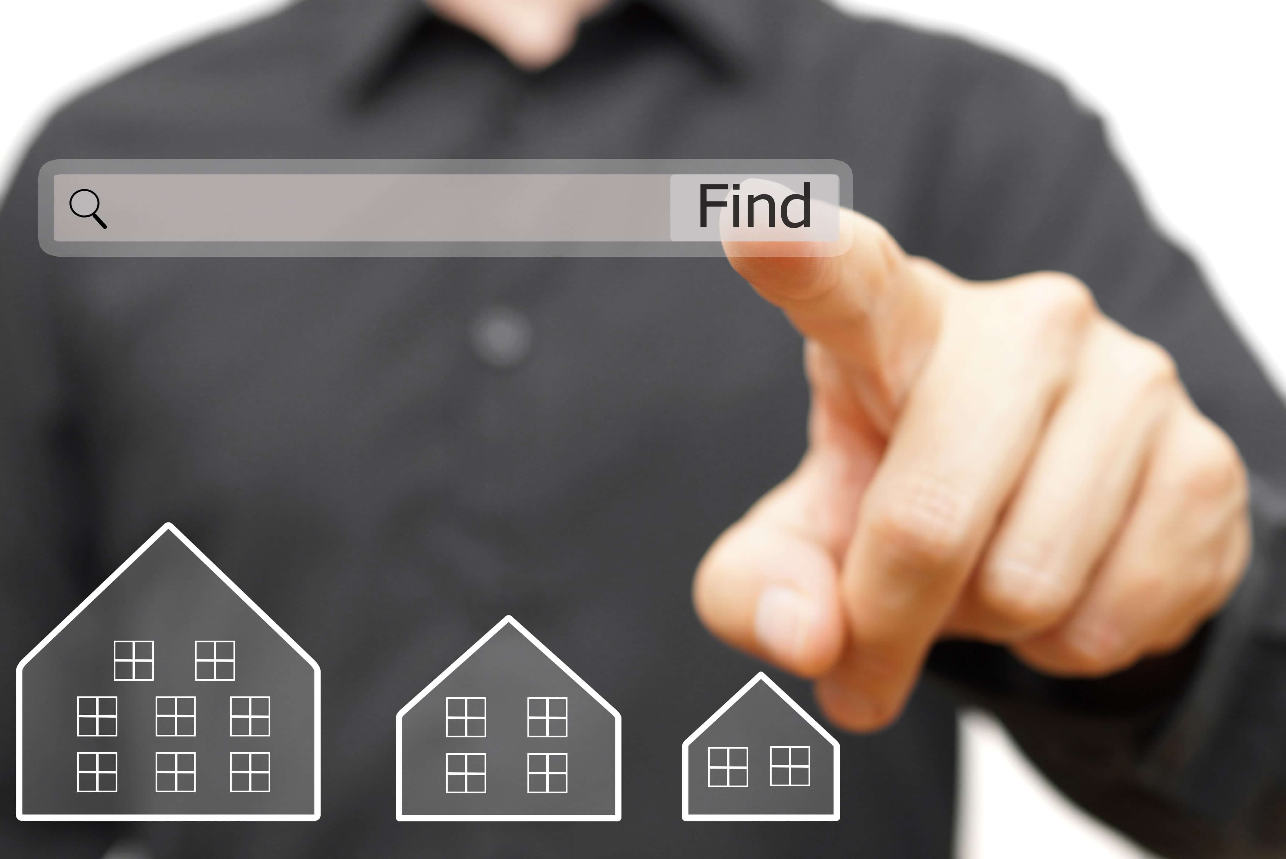 find and buy houses below market value