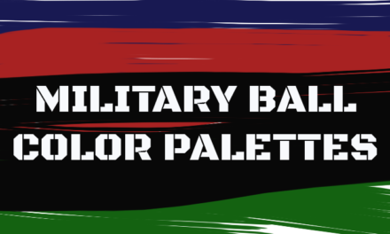 Military Ball Color Palettes