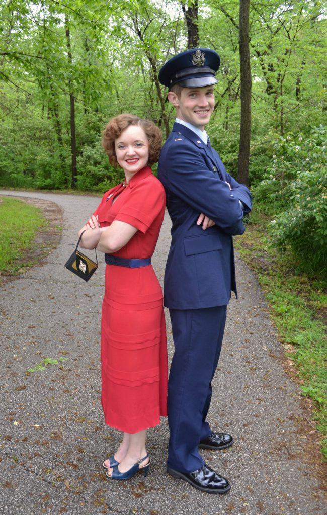 Emileigh Jacob Air Force Couple