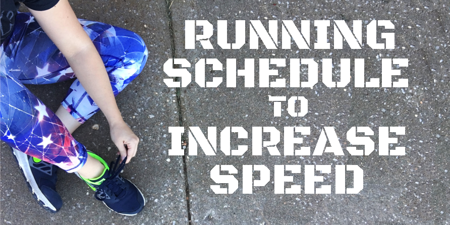 Running Schedule Increase Speed