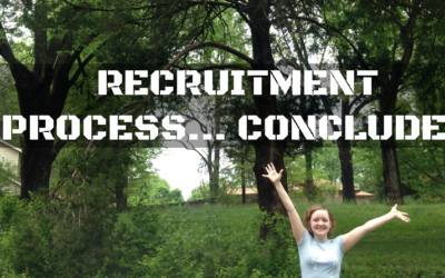 Recruitment Process…Concluded!