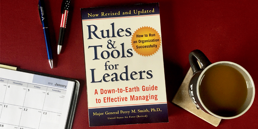 Book Review: Rules & Tools for Leaders