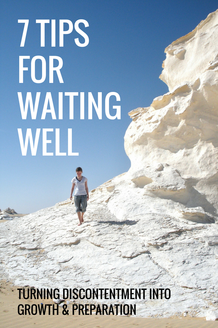 7 tips for waiting well