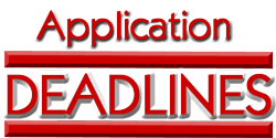 Application-deadlines