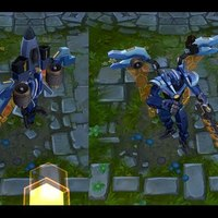 Mecha Aatrox skin screenshot