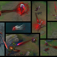 Blood Moon Kalista skin screenshot