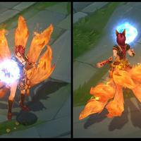 Foxfire Ahri skin screenshot