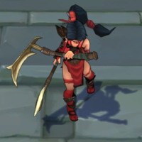 Crimson Akali skin screenshot