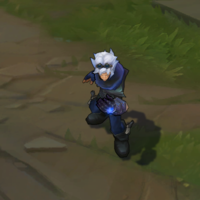 Frosted Ezreal skin screenshot