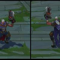 Hired Gun Lucian skin screenshot