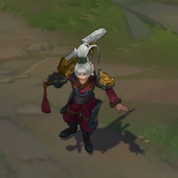 Dragonblade Riven skin screenshot