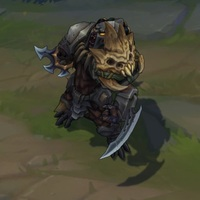 Headhunter Rengar skin screenshot