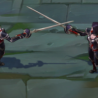Nightraven Fiora skin screenshot
