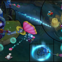 Pool Party Lulu skin screenshot