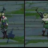 Arctic Warfare Caitlyn skin screenshot