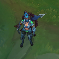 Dragonslayer Vayne skin screenshot