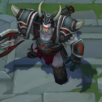 Warmonger Sion skin screenshot