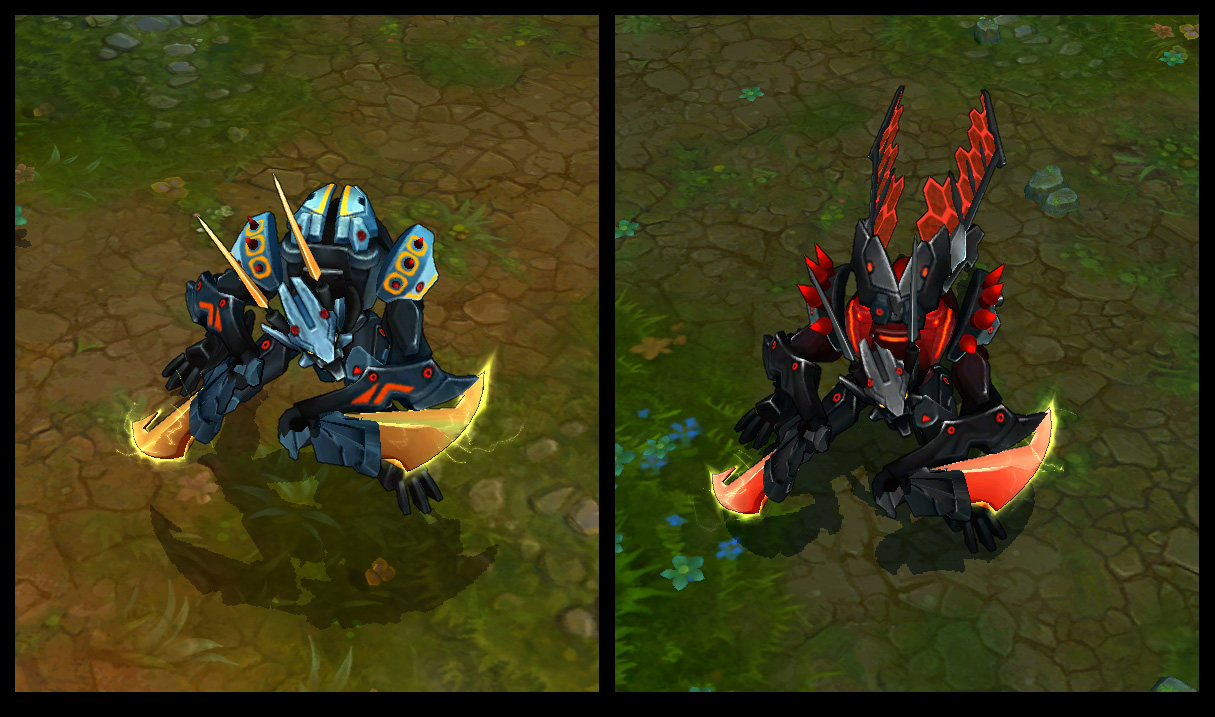 Mecha Kha'Zix Chroma R evolve changes : KhaZixMains