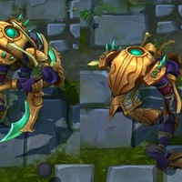 Guardian of the Sands Kha'Zix skin screenshot