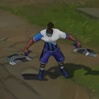 Striker Lucian skin screenshot