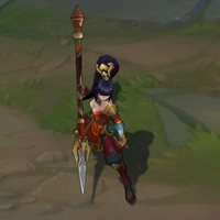 Warring Kingdoms Nidalee skin screenshot