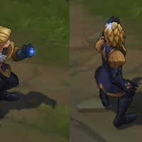 Ace of Spades Ezreal skin screenshot
