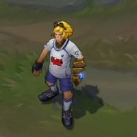 Striker Ezreal skin screenshot