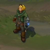 Nottingham Ezreal skin screenshot