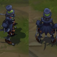 Mad Hatter Shaco skin screenshot