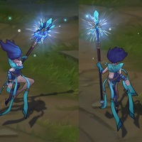 Frost Queen Janna skin screenshot
