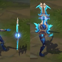 Frostblade Irelia skin screenshot