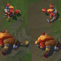 El León Gnar skin screenshot
