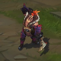 Beast Hunter Draven skin screenshot
