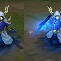 Cosmic Reaver Kassadin skin screenshot