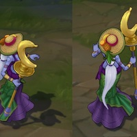 Order of the Banana Soraka skin screenshot