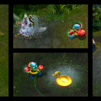 Pool Party Ziggs skin screenshot