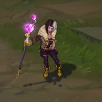 Wicked LeBlanc skin screenshot