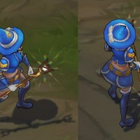 Sorceress Lux skin screenshot