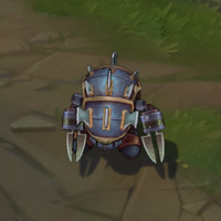 Full Metal Rammus skin screenshot