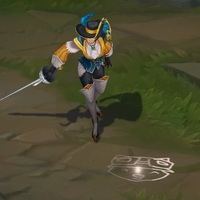 Royal Guard Fiora skin screenshot