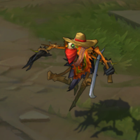 Bandito Fiddlesticks skin screenshot