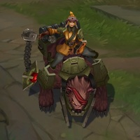 Bear Cavalry Sejuani skin screenshot