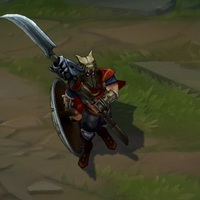 Glaive Warrior Pantheon skin screenshot
