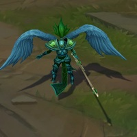 Viridian Kayle skin screenshot